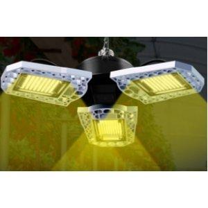 60 W - PROFI LED GROW žiarovka pre všetky rastliny s 3 ľahko nastaviteľnými časťami, E27, High-power+ SUNLIGHT