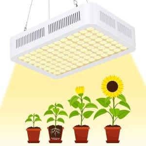 PROFI LED GROW panel pre rastliny so zabudovaným samochladiacim systémom, sunlight, 80W, 230V