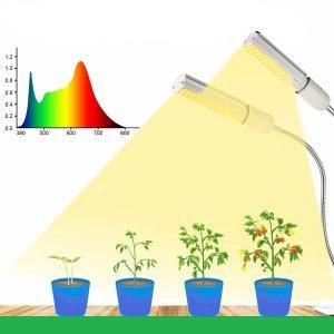 PROFI LED lampa so zabudovaným časovačom a stmievačom na všetky rastliny, sunlight, 30W, dvojramenná