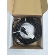 EXTRA PEVNÝ vykurovací kábel na ochranu proti mrazom s TERMOSTATOM IP68 17W/m - 2 m
