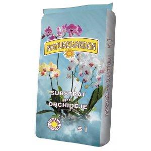 Substrát pre Orchidee NATUREGARDEN 5l