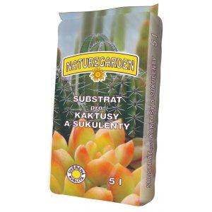 Substrát pre Kaktusy a Sukulenty NATUREGARDEN 5l