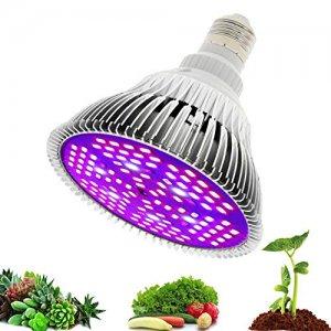 12 W - PROFI LED GROW žiarovka pre všetky rastliny, E27, High-power+, ružová