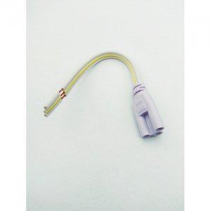 Napájacia koncovka, trojžilový kábel pre LED trubicu