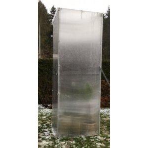 Polykarbonátový skleník (3M V x 0,8M Š)