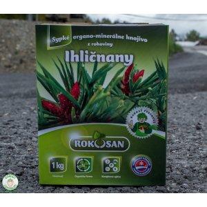 Ihličnany - sypké organominerálne hnojivo z rohoviny