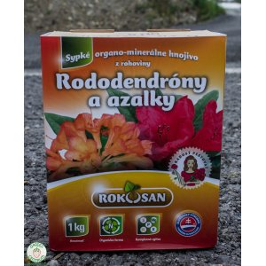 Rododendróny a azalky - sypké organominerálne hnojivo z rohoviny