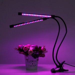 PROFI LED GROW trubicová lampa pre všetky rastliny, 18W, dvojramenná