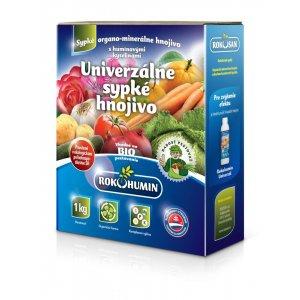 Všetky rastliny – sypké organické univerzálne hnojivo s humínovými kyselinami