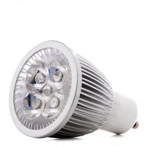 5 W - PROFI LED GROW žiarovka pre všetky rastliny, GU10, High-power+, ružovo-modrá