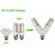 Rozdvojka pre LED žiarovky
