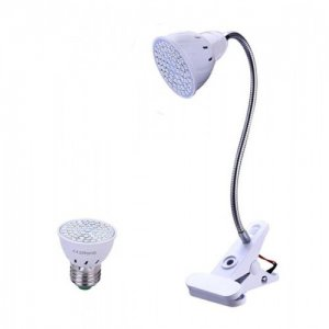 BASIC LED lampa pre všetky rastliny, E27, 3W, fialová