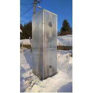 Polykarbonátový skleník (3M V x 1M Š)